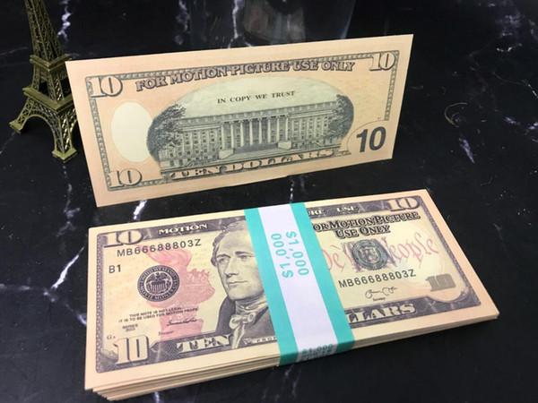 10 Dolars (100pcs)