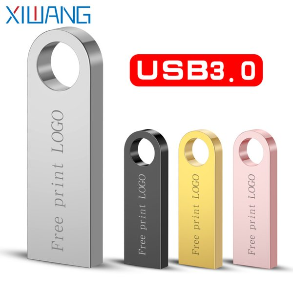 best selling Pen Drive Metal Pendrive 3.0 2.0 32GB 16GB High Speed Usb Flash Drive Usb Memory Disk Free Custom Logo & Shipping new