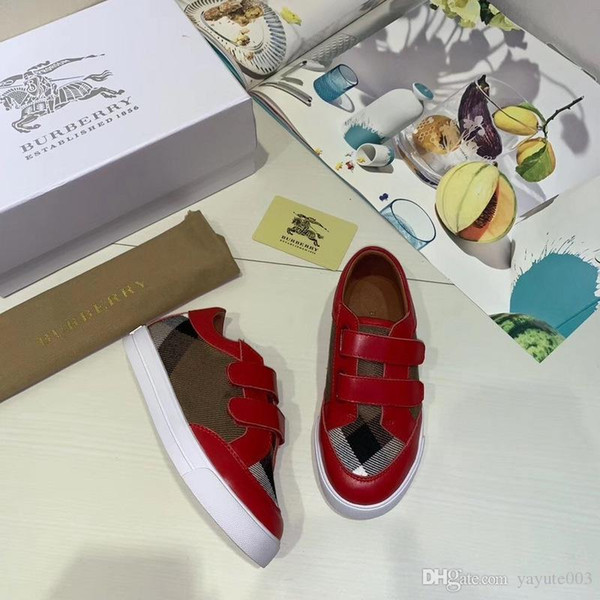 iduzi Best Selling Art und Weise heiße Kinder BBR Designer-beiläufige Turnschuh-Jungen-Mädchen-Letter-Muster Kinder Schuhe