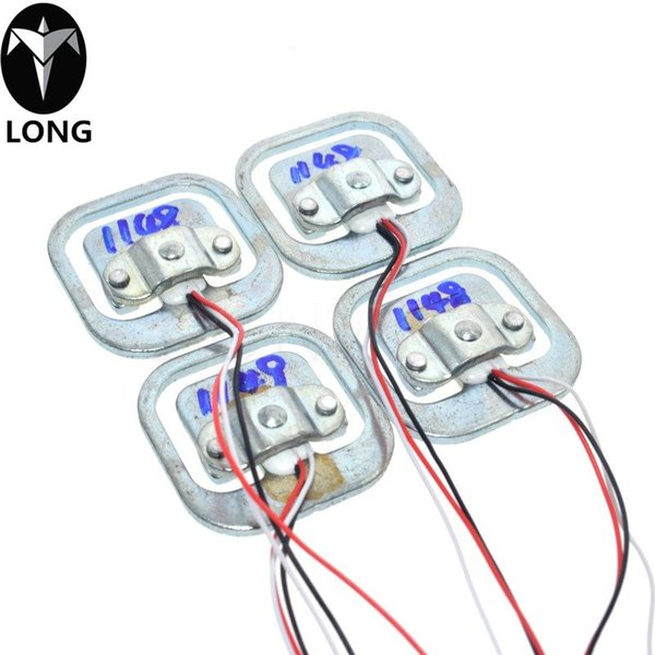 1 UNIDS Experimentos de escala corporal cuerpo humano mayorista célula de carga sensor resistencia tensión 50 kg sensores de medio puente