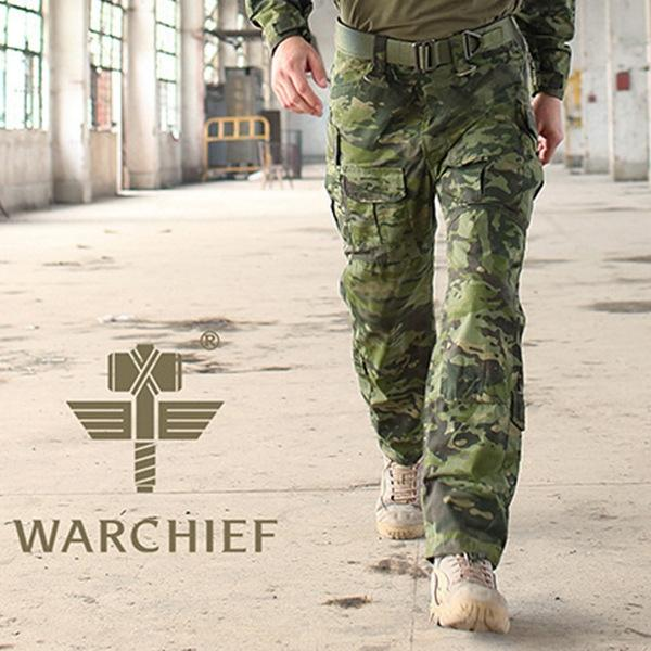 Jungle Camouflage Tactical Pants
