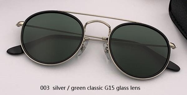 Lente de vidro 003 prateada / G15