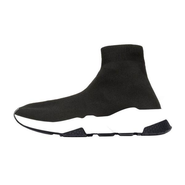 2019 Designer Socken Schuhe Mode Sneakers Speed Trainer schwarz weiß blau rosa Glitzer Herren Turnschuhe Freizeitschuh Runner schwere Sohle Z11