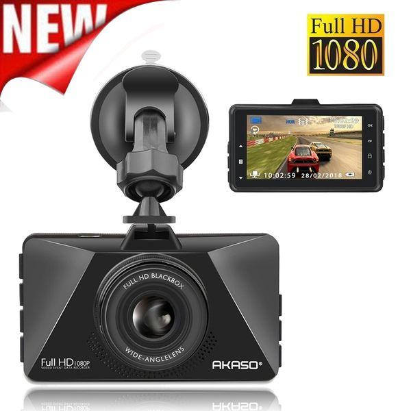 Akıllı Araba DVR 3 Inç Süper 1080 P HD Dash Kamera Video Kayıt C200 Vechile Park Monitör ile Çizgi Kam