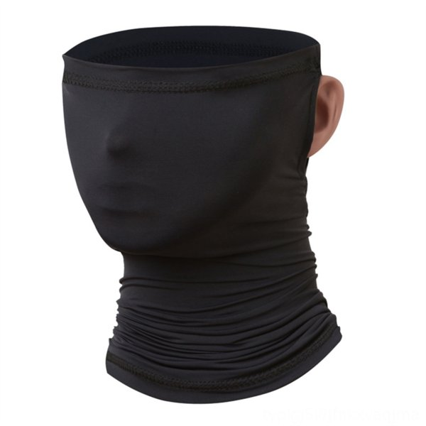 ear-hanging scarf [black]]