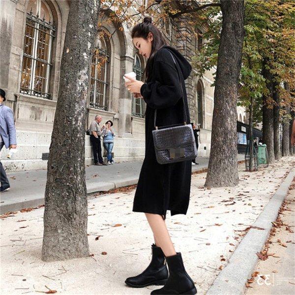 black spring dress