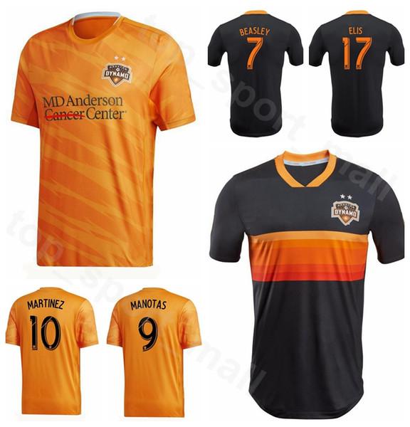 Maglia da calcio 19-20 MLS Houston Dynamo FC 23 Joe Willis 22 VERA LUNDQVIST 9 MANOTAS 8 RODRIGUEZ 17 Maglia da calcio ELIS Uniform