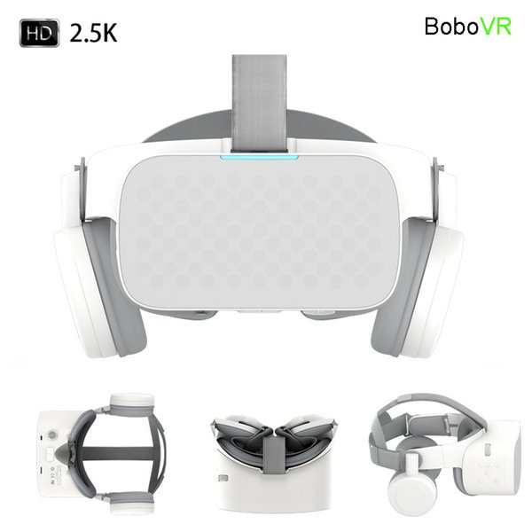 Bobovr X6 Realidade Virtual All In One Vr Binocular 2.5k Hd Vr Headset 3d Android Óculos Capacete Immersive 5.5' LCD Wifi Bt4.2