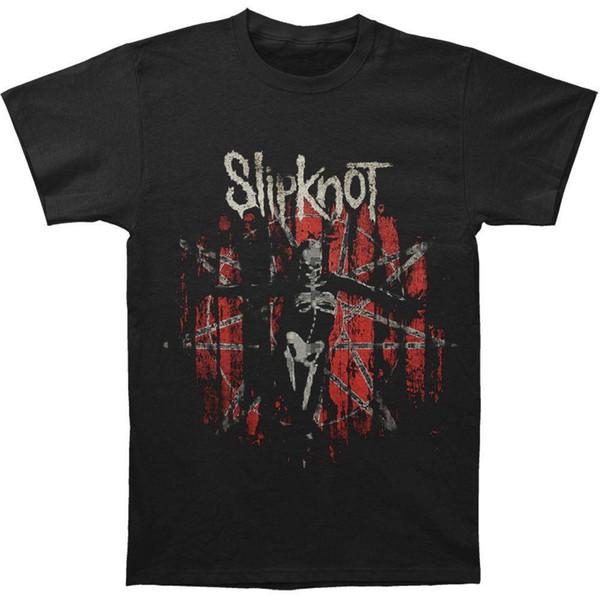 Slipknot Männer The Gray Kapitel Star T-Shirt Schwarz