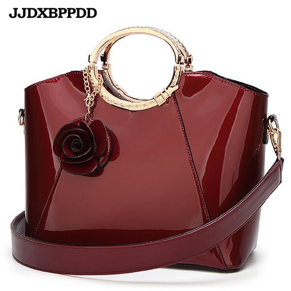 Новый высокое качество лакированная кожа женщины сумка дамы крест тела посланник сумки на ремне сумки женщин известных брендов bolsa Y190619