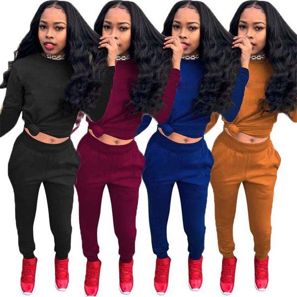 2019 Brand Designer Women Tracksuit C letters Hoodie Pants leggings 2pcs tracksuit sport suit set Jogger Set Casual Outfit Sweatsuit S-3xl
