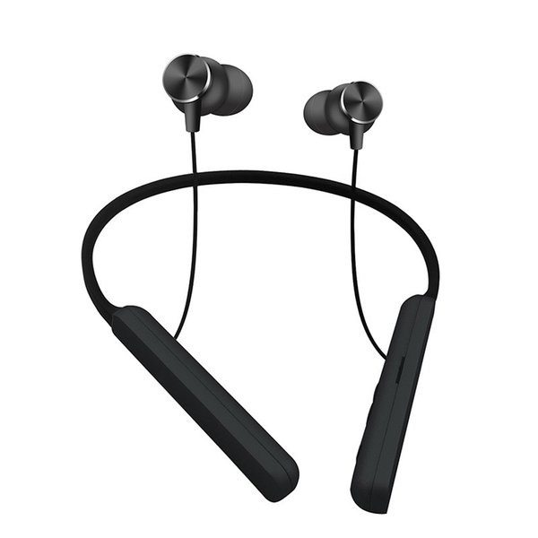 Fashion small and simple with no string In-ear bluetooth sport monitor Wireless stereo headphone Neckle earphone