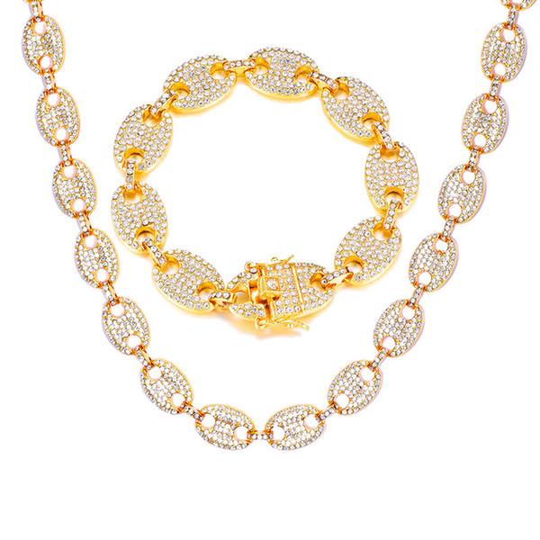1set Bracelet en or (20cm) de 45cm (18inch de)