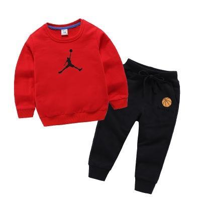 Enfants Designer Vêtements Définit Basketball Casual Motif Garçons Survêtements Survêtement Sweat Pantalon De Survêtement Filles De Luxe Sportwear 12 Couleurs