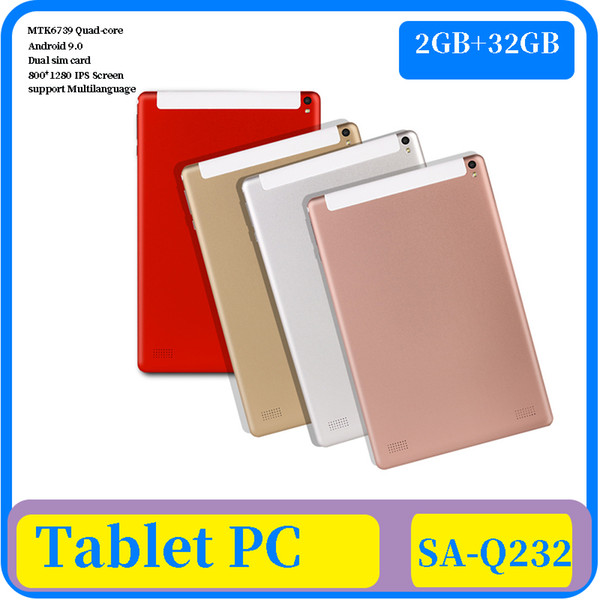 best selling 7 inch IPS Screen 1280*800 MTK6739 Quad Core Android 9.0 4G GPS WIFI 4G LTE Tablet PC