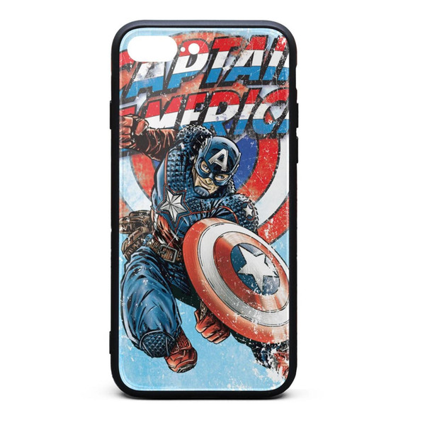 Kevin Wind Design and Illustration Captain America iphone cases cool designer case fancy apple protective case printted classic phone c