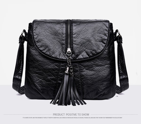 New Designer Shoulder Bag Soft Leather Handbag Women Messenger Bags Crossbody Fashion Women Bag Female Flap Bolsa