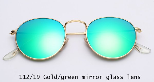 112/19 gold / grüne Spiegellinse
