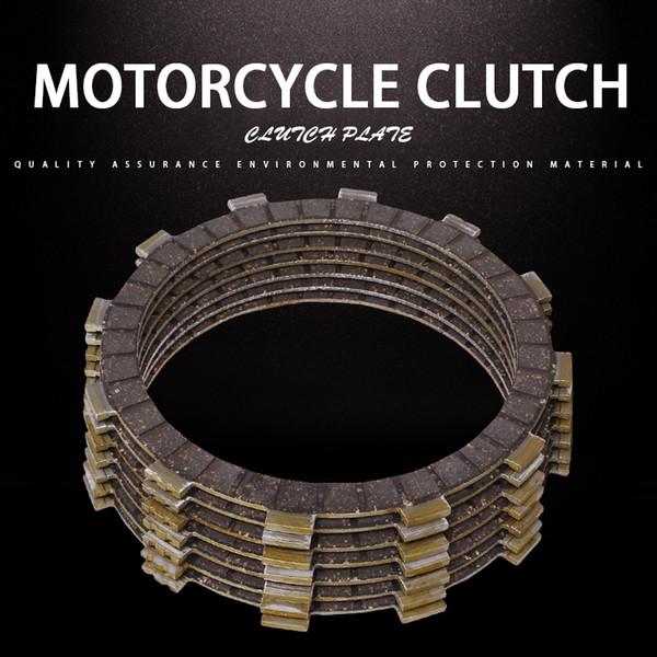 1Set 7PCS Clutch Disc Friction Plates Accessories Clutch Plates For Yamaha XV400 Virago 89-94 XVS400 Drag Star XV535 DS4 00-15