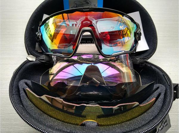Alta Qualidade Da Moda 5 Lente Marca Polarizada Jawbreaker Óculos De Sol Para Homens Mulheres Esporte Ciclismo Bicicleta Dos Homens Óculos De Sol Óculos De Sol Goggle