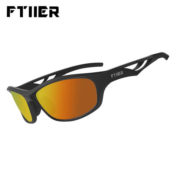 Ftiier Polarized Sports Cycling Bicycle Glasses Photochromic Sunglasses Men Women Bike Running Hiking Camping Fishing Eyewear
