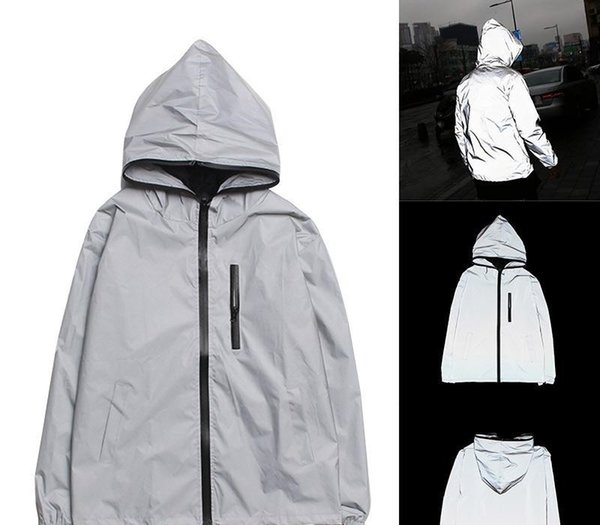 Mens Luxury Windbreaker Autumn Japanese Jacket Reflective Designer Fashion Jacket Mens Designer Jacket Winter Coat Size S-4XL74