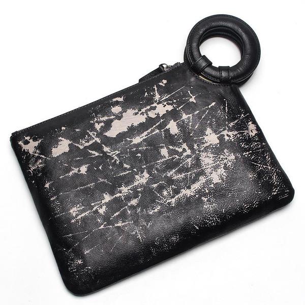 Designer-Fashion Men Clutch Genuine Leather Women Handbag Casual Hasp Envelope Bag Business Male Messenger Bags Men Travel Bags