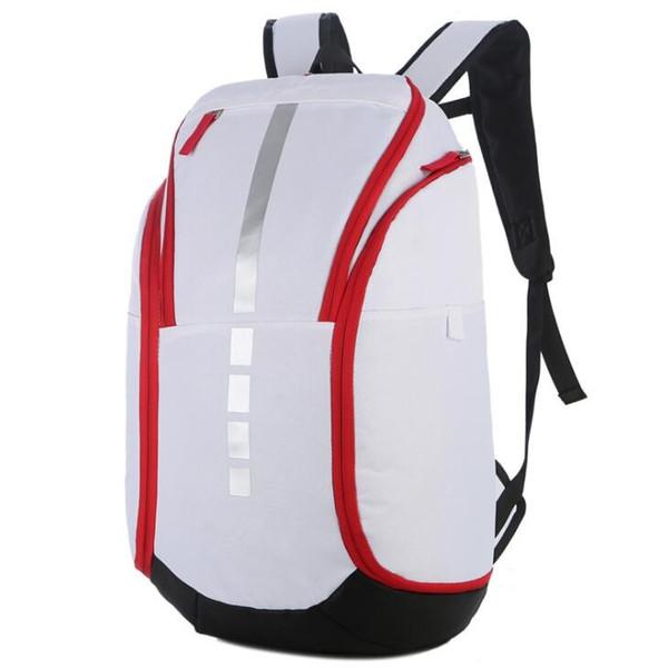 Мужской бизнес большой емкости многофункциональный рюкзак для мужчин белый спорт на открытом воздухе баскетбол мода женщины рюкзак мужской дорожные сумки