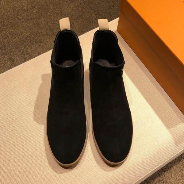 Зима Марка мужчины теплый мех древесины походная обувь Мартин сапоги замша  кожа теплый снег сапоги открытый 268f7443281