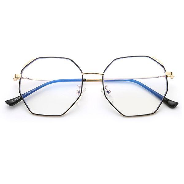 Unisex Round Computer Reading Glasses 2019 Blue Light Blocking Glasses Vintage Eyeglasses Frame Women Blue Ray