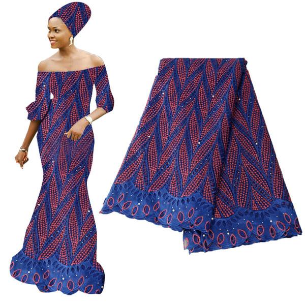 Ultime nero guipure africano bianco tessuto di pizzo 3D tessuto indumento nigeriano tessuto di pizzo voile tessuto di pizzo francese per la festa nuziale BF0003