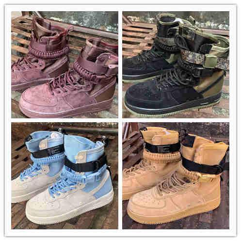 Alta qualidade SF Air Forced1 Uma 1 Dunk Homens Running Shoes, Sports Skateboarding Uns sapatos de desporto ao ar livre mens sapatos 40-45
