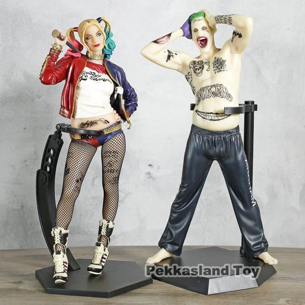 Crazy Toys Suicide Squad Joker / Harley Quinn Figura de acción Muñeca de PVC Anime Juguetes modelo de colección