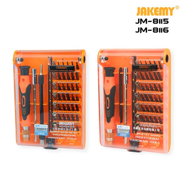 45-in-1 S2 Precision Screwdriver Set DIY Repair Tool for Watch and Clock Mobile Phone Electronics Disassembly and Repair Tools