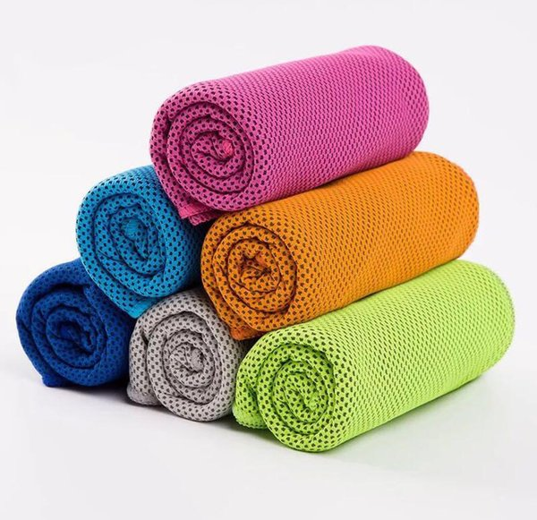 best selling Double Layer Cool Ice Towel Summer Sunstroke Sports Yoga Exercise Cool Quick Dry Soft Breathable Hand Towels Hot Popular by kingroom