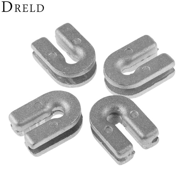 Tools Tool Parts DRELD 4Pcs Grass Trimmer Head Eyelet 537185902 Bump and Go Nylon fit for Husqvarnaa T35 T25 Brush Cutter Spare