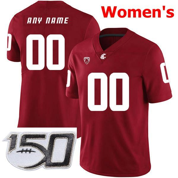 Womens Red With 150th Patch