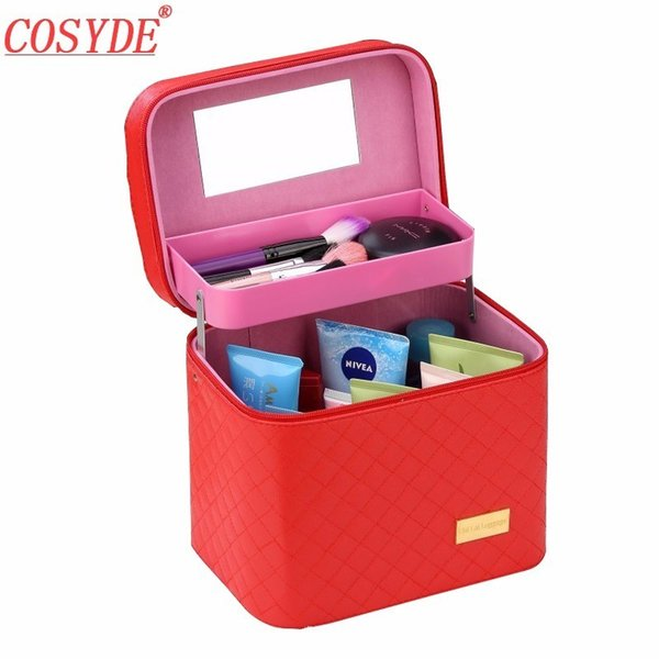 2018 Brand Makeup Artist Professional Beauty Cosmetic Cases With Makeup Bag Semi-Permanent Tattoo Nail Multilayer Toolbox Bag