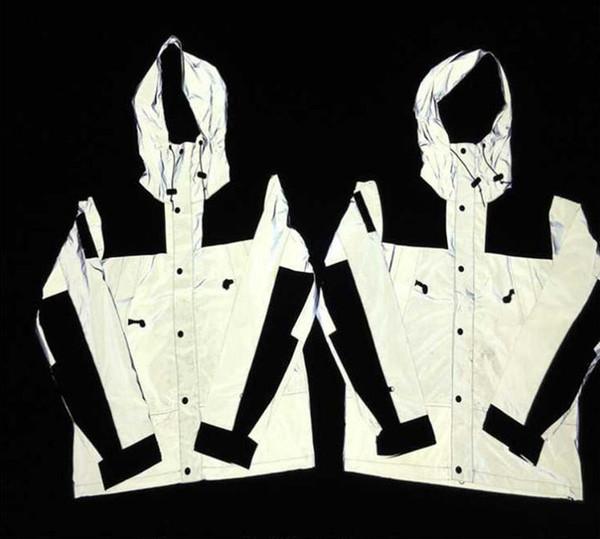 Mens designer windbreaker jacket 3M Flag reflective Outdoor Waterproof Windproof TN FJ10 Sports college hot best sellers