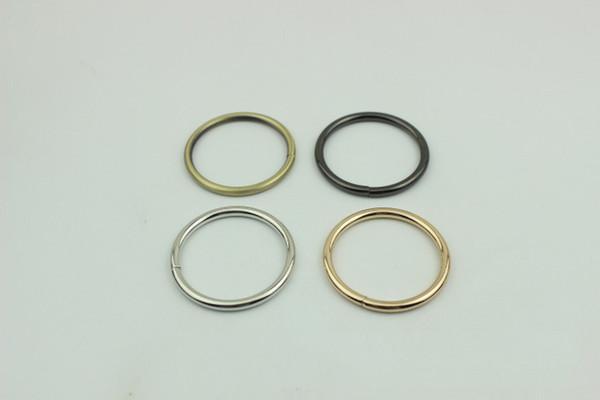 accessori hardware borsa anello aperto collegamento fibbia gancio fibbia diametro interno 1,6 cm 2 cm 2,5 cm 3,2 cm 3,8 cm