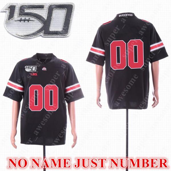 150th Black NO NAME Красный номер