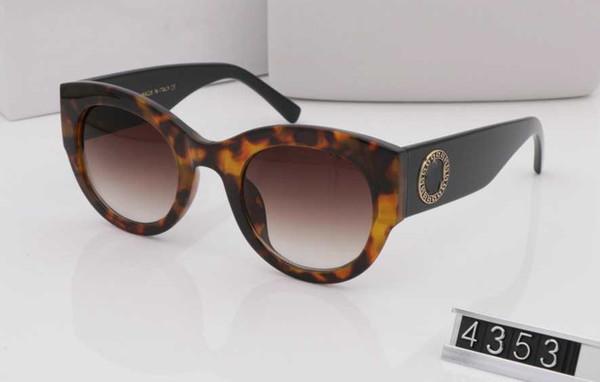 57304777a01c Summer style italy brand medusa sunglasses VE4353 women men brand designer  uv protection sun glasses clear
