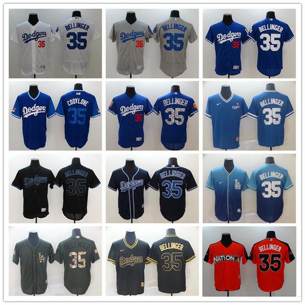 official photos 0595b a294c 2019 Custom Los Angeles Men'S Women Youth Majestic LA Dodgers Jersey #35  Cody Bellinger Blue White Grey Kids Girls Baseball Jerseys From Diy02,  $22.34 ...