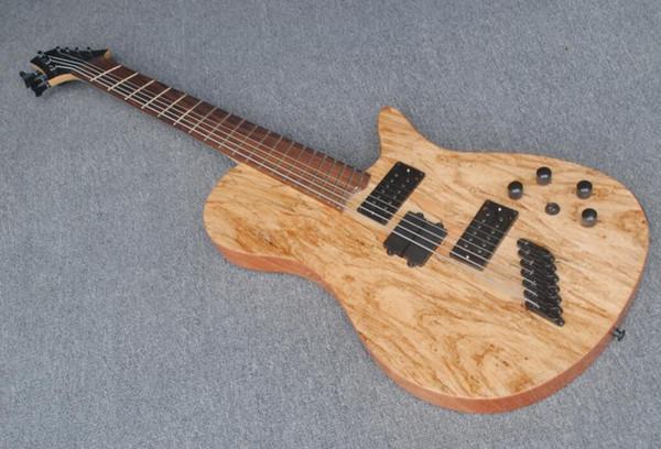 Проветрив лада 7string (3 басовых струн + 4 струны гитары) электрическая гитара