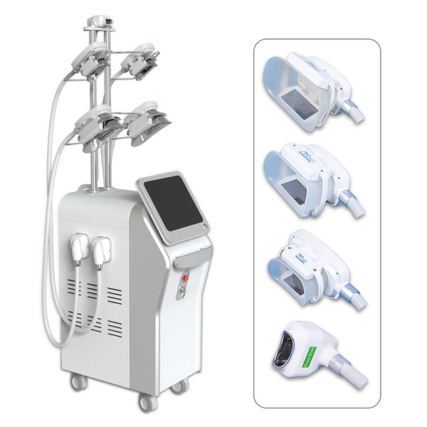 Super Slim 4 handles can working at the same time Fat Freezing Cryolipolysis Weight Loss Beauty cool fat freeze cell Machine