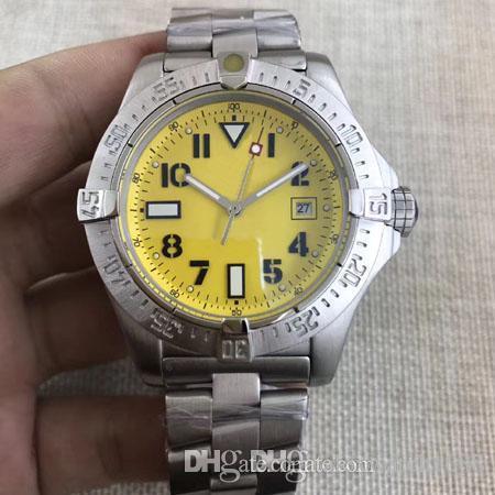 4 Styles Watches Men Stainless Band Watch Nero Avenger Seawolf Orologio meccanico automatico orologio da polso da uomo FU174