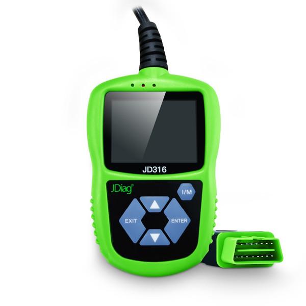 Promozione JDiag JD316 OBD2 di codice OBDII lettore di esplorazione OBD 2 Modalità Strumento diagnostico auto 6 protocollo