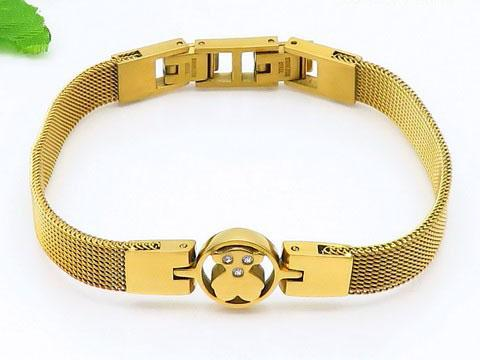 Titanium Steel Bracelet Bangle Fashion Temperament Exquisite Ladies Jewelry Women Gifts Couple Bracelets Rose Gold High-end Quality