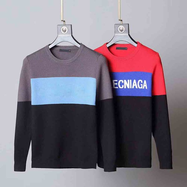 TOY Mens Sweater Pullover Men Brand Deisgner Hoodie Long Sleeve Designer Sweatshirt Letter Embroidery Knitwear Winter Clothing