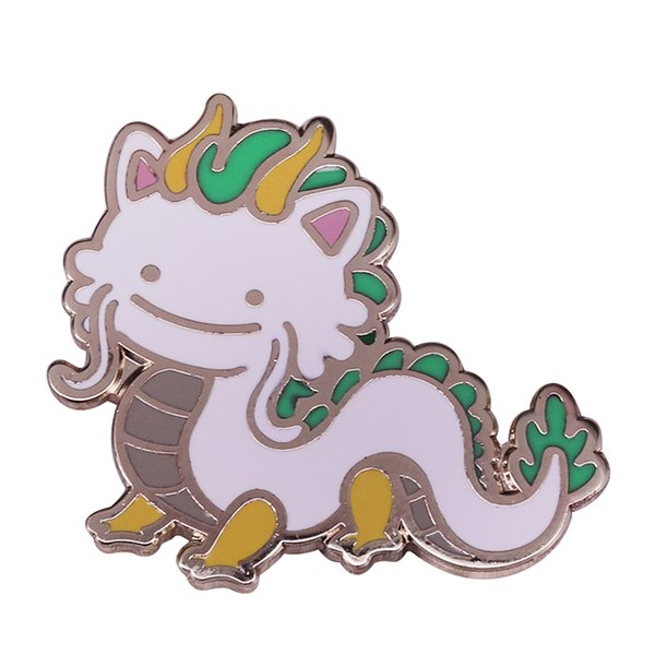 Broche animale mythique